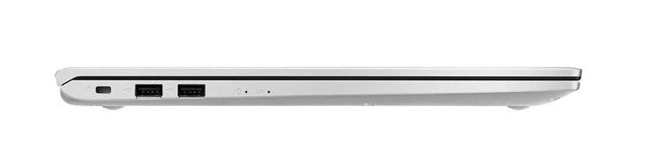 لپتاپ ایسوس مدل Vivobook A712FB از کنار