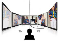 check out the various features of the ips display panel