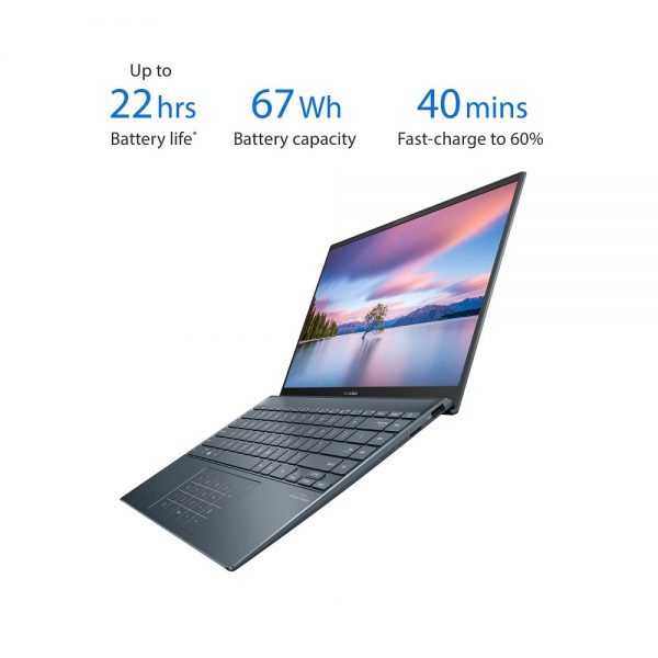 لپ تاپ 14 اینچی ایسوس مدل ASUS Zenbook UX425JA