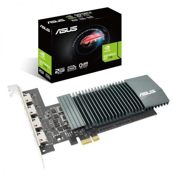 کارت گرافیک ایسوس مدل GT710-4H-SL-2G_D5 حافظه 2 گیگابایت