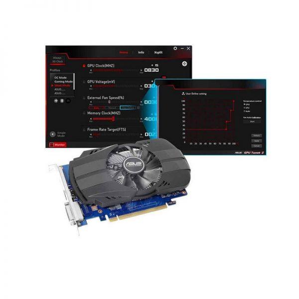 کارت گرافیک ایسوس مدل PH-GT1030 02G با حافظه 2 گیگابایت