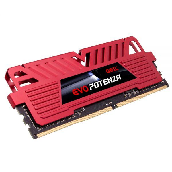 رم DDR4 تک کاناله 3200 مگاهرتز GEIL مدل EVO POTENZA ظرفیت 8 گیگابایت