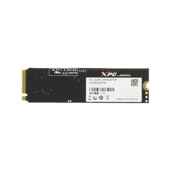 اس اس دی ای دیتا XPG SX6000 PRO 512GB