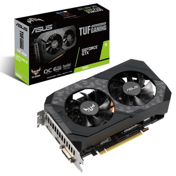 کارت گرافیک ایسوس مدل TUF-GTX1660-O6G-GAMING