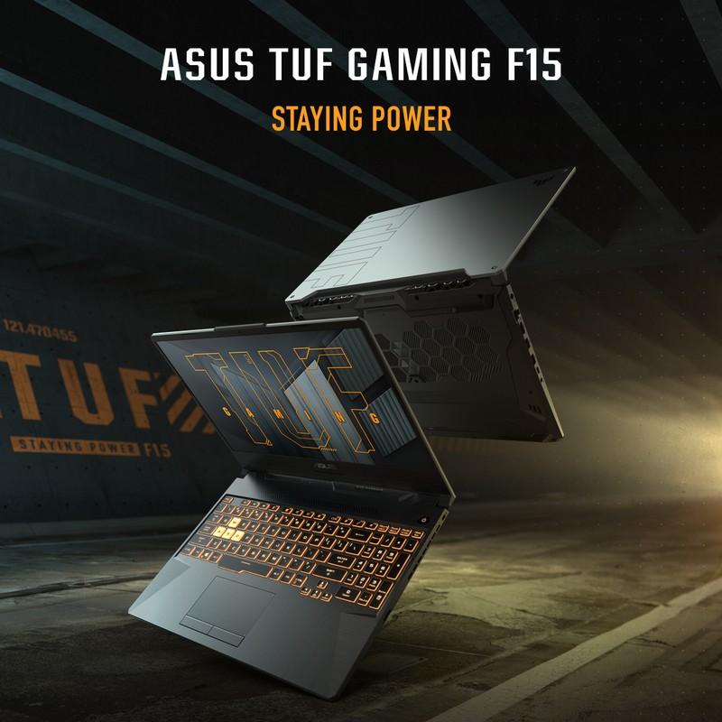 لپ تاپ 15 اینچی ایسوس مدل ASUS TUF DASH F15 FX506HE