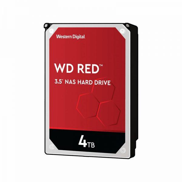 هارددیسک اینترنال وسترن مدل RED 4TB 64MB BUFFER