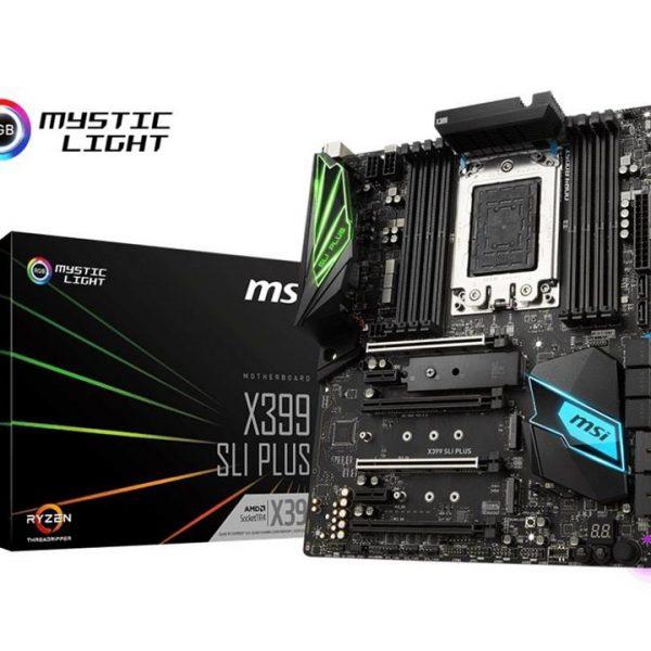 X399 SLI PLUS TR4 Motherboard